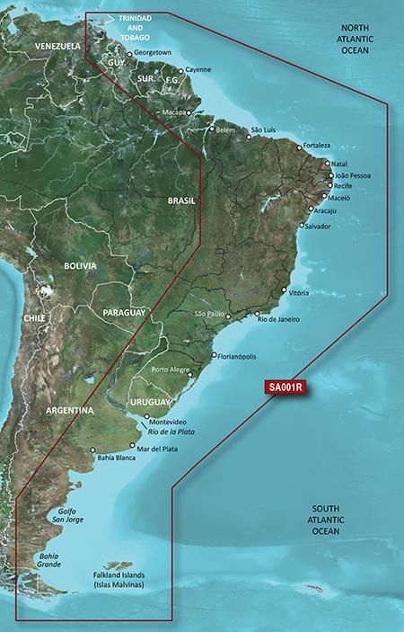 South America East Coast