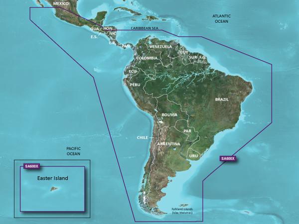 Resultado de imagem para Carta nautica Garmin BLUECHART G2 SOUTH AMERICAN