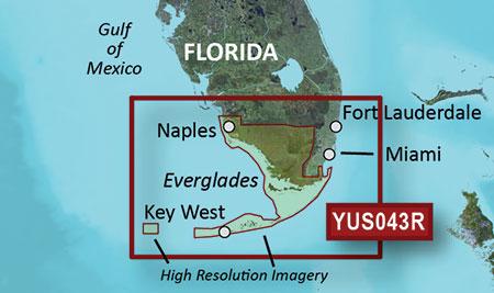 Everglades Florida Map.Yus043r Florida Everglades And Keys Garmin