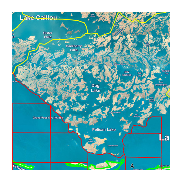 Standard Mapping® - Louisiana Central Premium