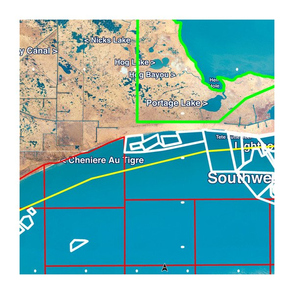 Standard Mapping® - Louisiana West Professional