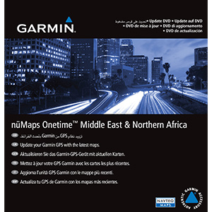 nüMaps Onetime™ City Navigator® Middle East & Northern Africa NT