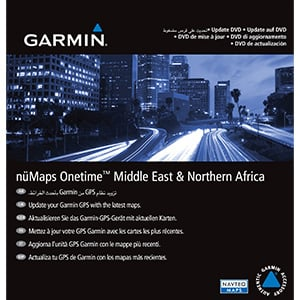 nüMaps Onetime™ City Navigator® Middle East & Northern Africa NT 2014