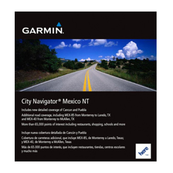 Mapa de México NT City Navigator®