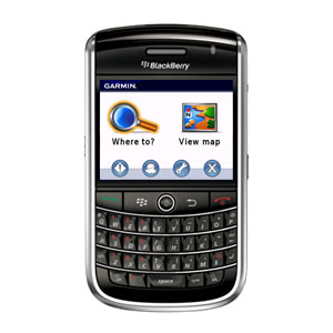 Garmin Mobile® for BlackBerry®