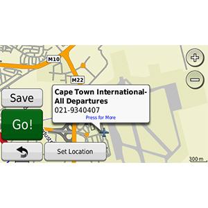 nüMaps Onetime™ City Navigator® Southern Africa NT 1