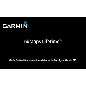 nüMaps Lifetime™ Middle East and Northern Africa