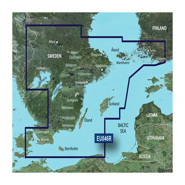 BlueChart® g3 HXEU046R - Sweden, Southeast