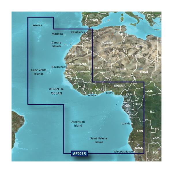 Africa, Western Coastal Charts