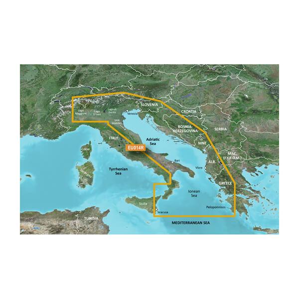 Adriatic Sea Charts