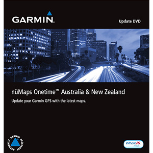nüMaps Onetime™ City Navigator® Australia and New Zealand NT