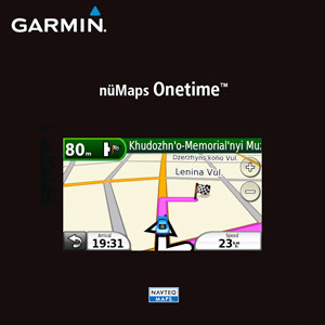 nüMaps Onetime™ City Navigator® Taiwan NT