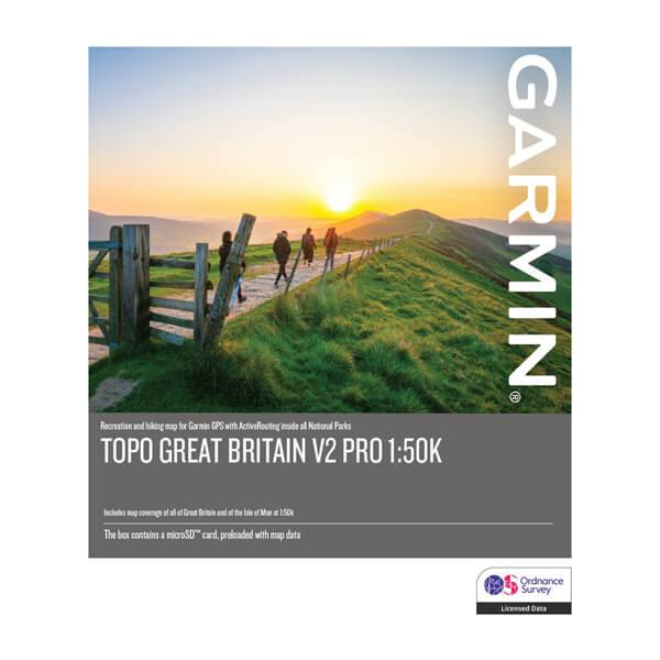 TOPO Great Britain PRO 1:50k