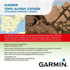 TOPO Alpina Espana - Catalunya interior-Litoral