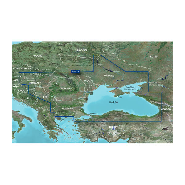 BlueChart® g3 HXEU063R-Black Sea & Azov Sea