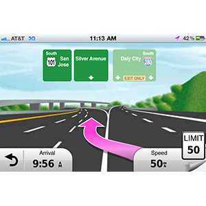 Garmin StreetPilot® for iPhone 2