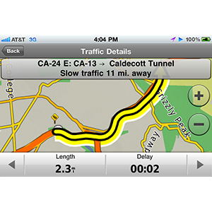 Garmin StreetPilot® for iPhone 3