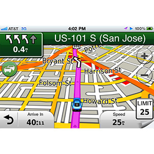 Garmin StreetPilot® for iPhone 4