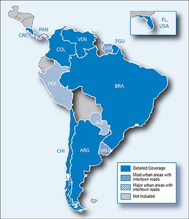 Garmin City Navigator South America NT 2013.40