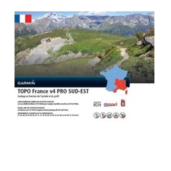 TOPO Frankrijk v4 PRO- Zuidoost
