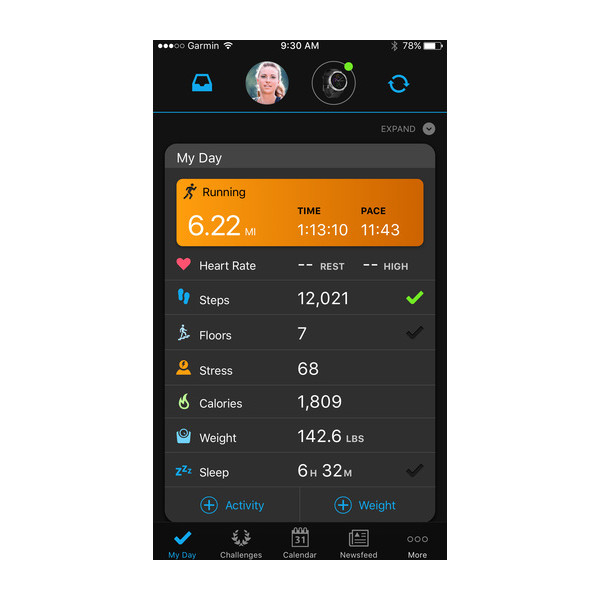 Garmin Connect Mobile App >> Garmin Connect Mobile App
