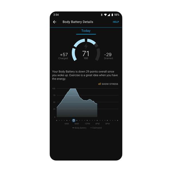 Garmin Connect-App 3
