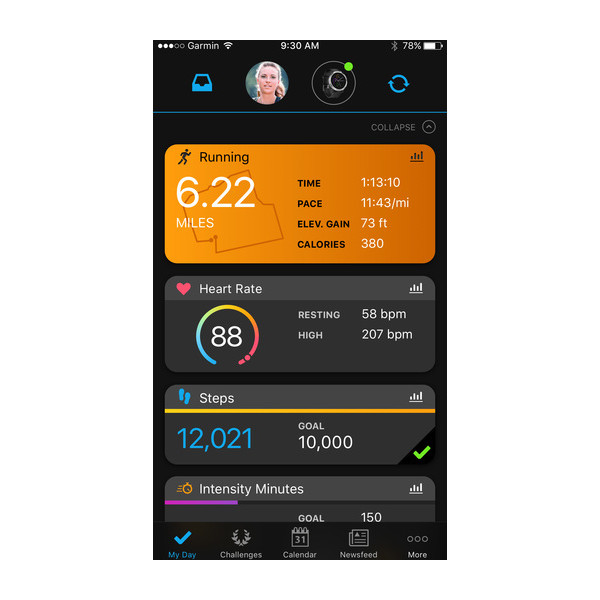 Garmin Connect™ App 2