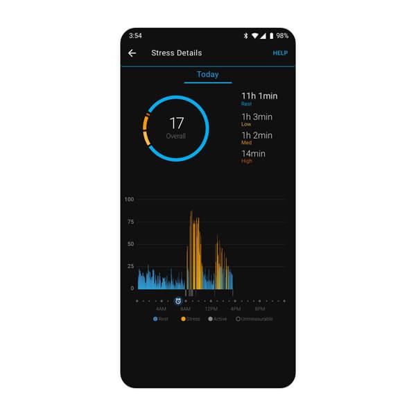 aplikacji Garmin Connect 5