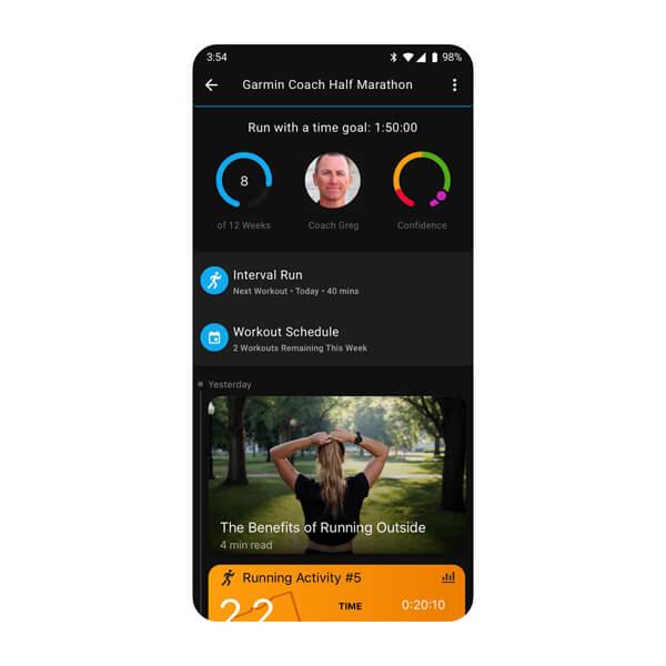 aplikacji Garmin Connect 7