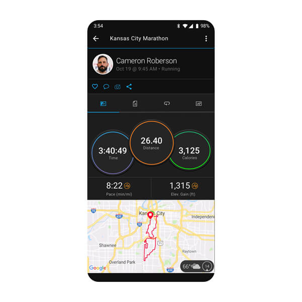 Garmin Connect™ App 6
