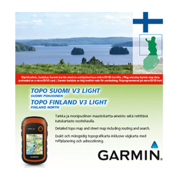 TOPO Suomi Finland v3 Light Pohjoinen