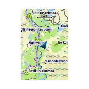TOPO Suomi Finlandev3 version limitée Pohjoinen 1