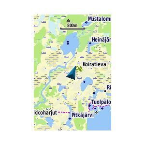 TOPO Finland v3 Light - Pohjoinen 2