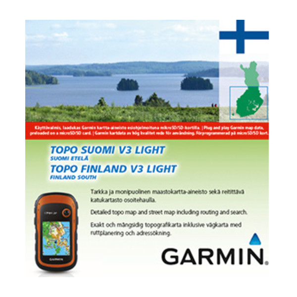 TOPO Suomi Finland v3 Light Etela