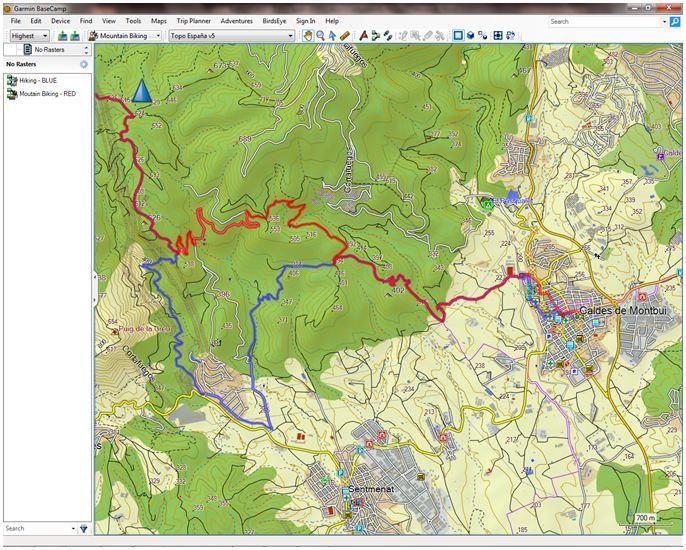 maps garmin spain