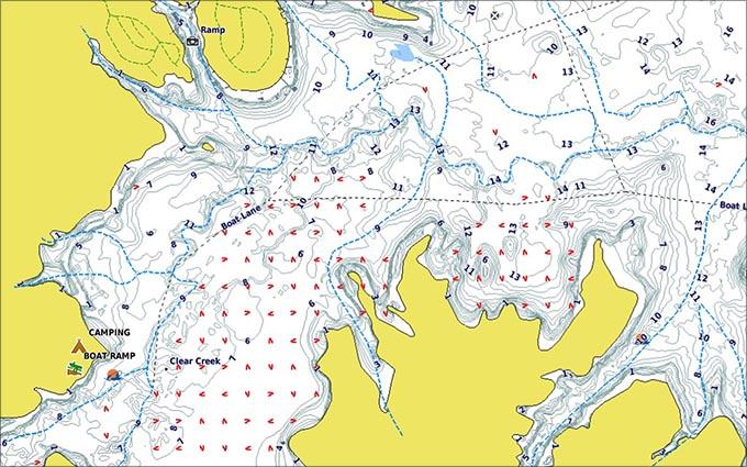 釣りスポット - 地図