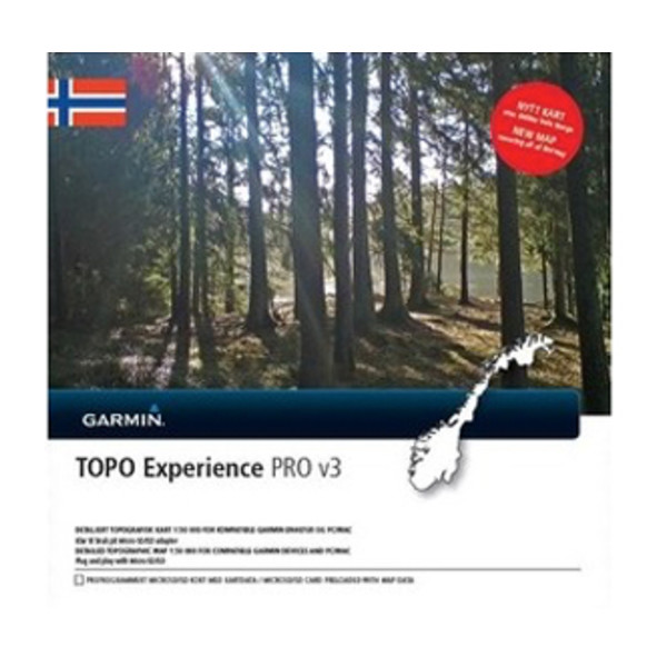 TOPO Norge Experience PRO v3