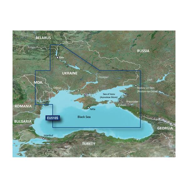 Dnieper River and Azov Sea Charts