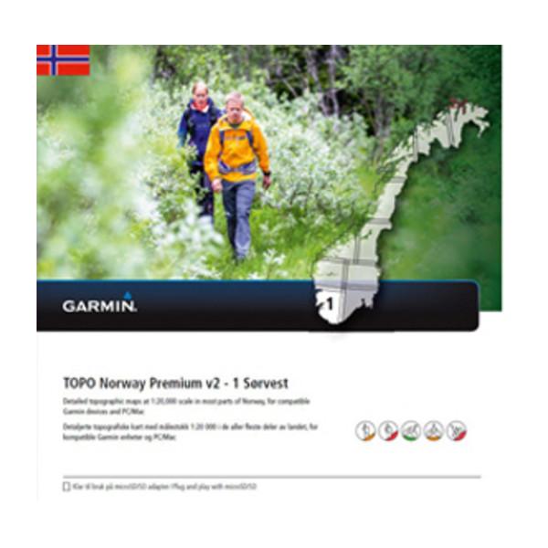 TOPO Norway Premium 1 - Sorvest