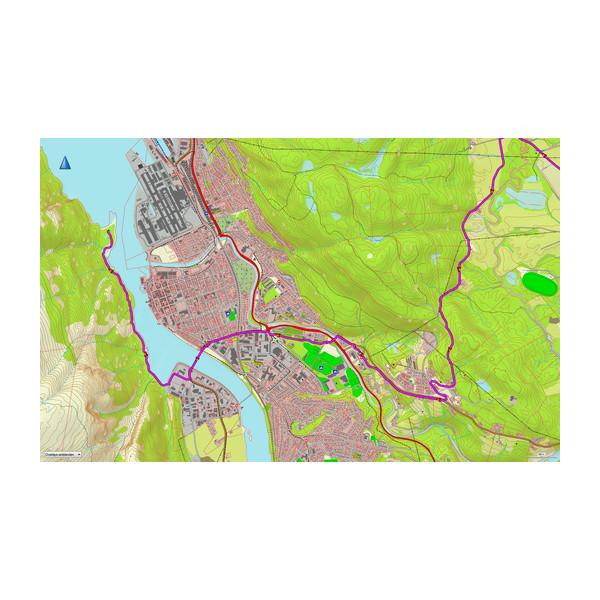 TOPO Norway Premium v3, región 1 - Sorvest 2