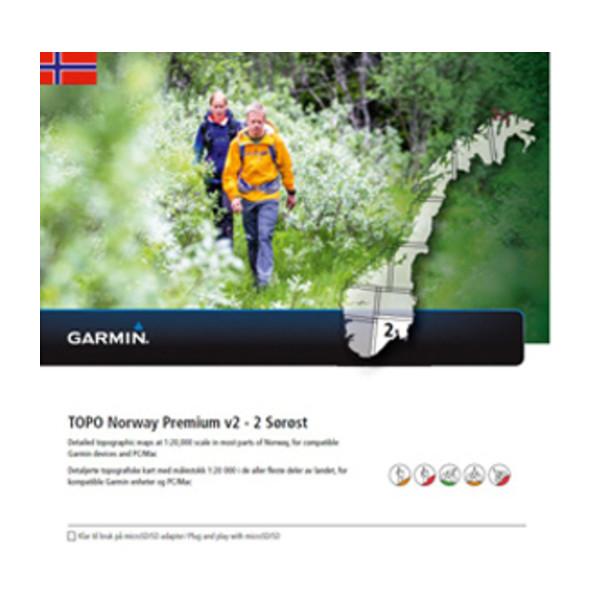 garmin topo premium kart TOPO Norway PREMIUM 2   Sørøst | Garmin garmin topo premium kart