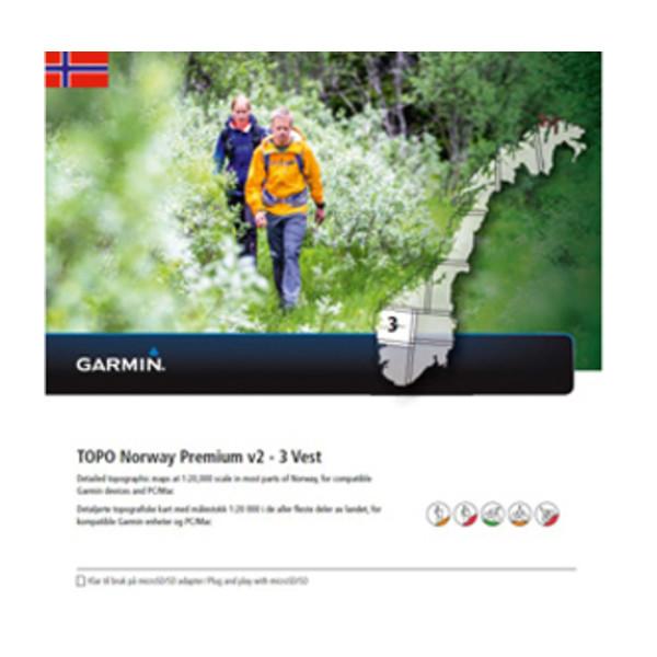 TOPO Norway Premium 3 - Vest