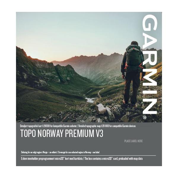 TOPO Norway Premium v3, región 3 - Vest