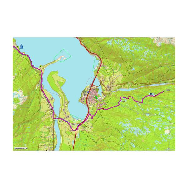 TOPO Norway Premium v3, Regione 8 - Nordland Nord 1