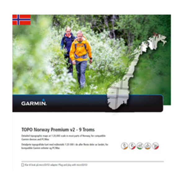 TOPO Norway Premium 9 - Troms