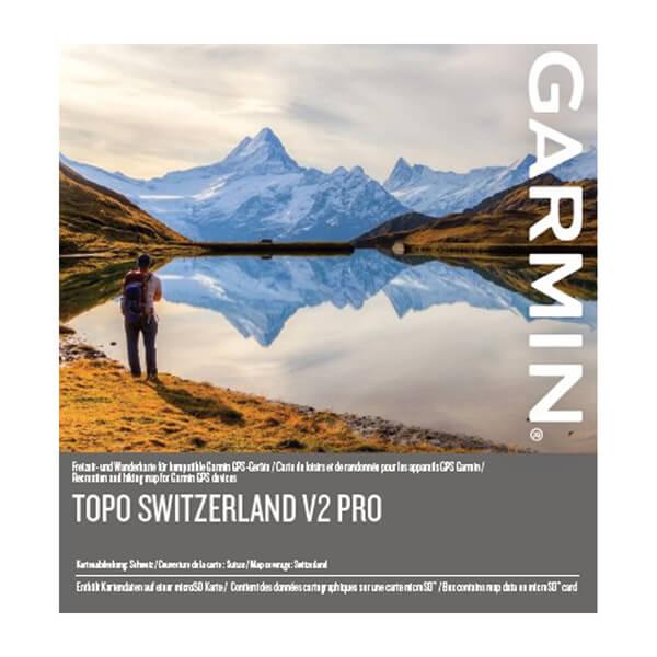 TOPO Zwitserland V2 PRO, zonder rasterkaarten