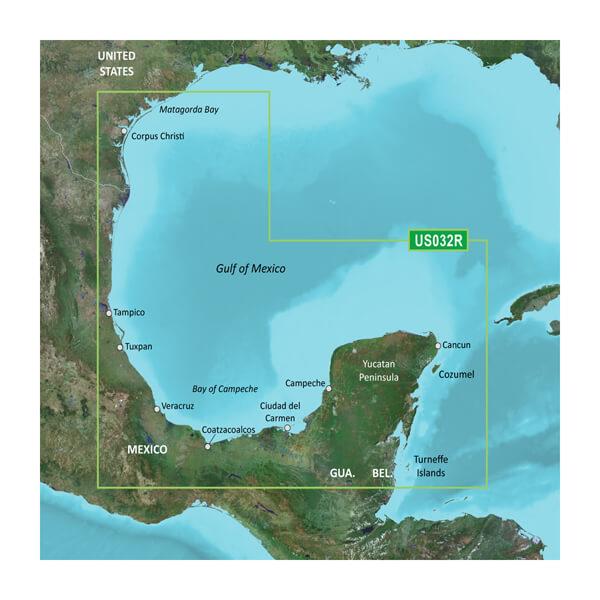 Southern Gulf of Mexico Coastal Charts