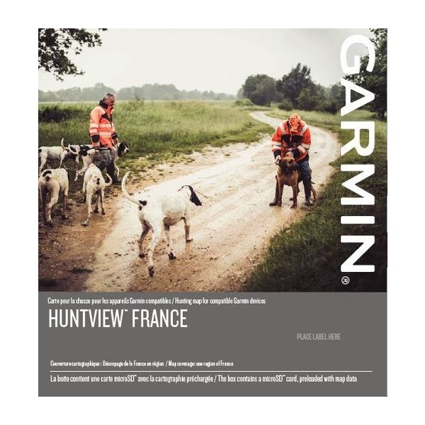 Garmin HuntView™ France, Central-West