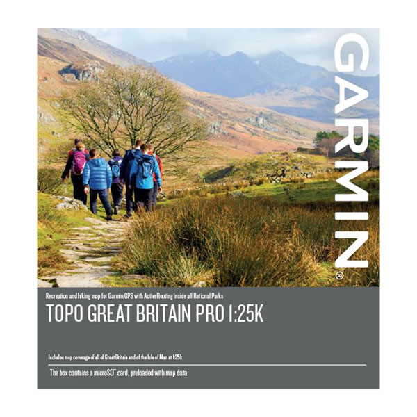 TOPO Great Britain PRO 1:25K