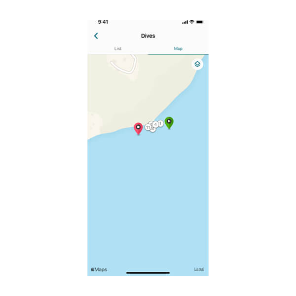Aplikacja Garmin Dive 5